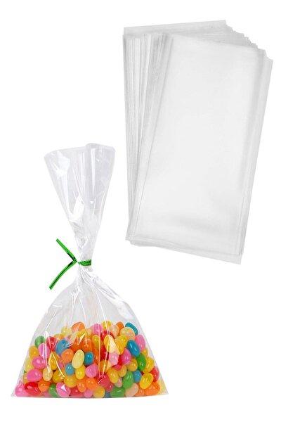 Kazanabil 50li Şeffaf Cake Pops ve Kurabiye Poşeti 10x20cm