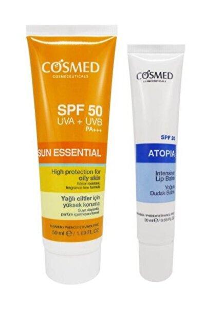 COSMED Sun Essential SPF50 Oily Skin Cream 50 ml Set 8699292992623