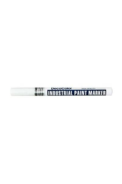 Marvy DecoColor Industrial Paint Marker Çok Amaçlı Boyama Markörü BEYAZ
