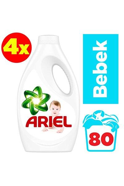 Ariel Baby Sıvı Çamaşır Deterjanı 20 Yıkama Bebekler İçin 4'lü