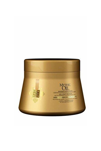 L'oreal Professionnel Mythic Oil Light Normal ve İnce Telli Saçlar için Maske 200 ml 3474636391165