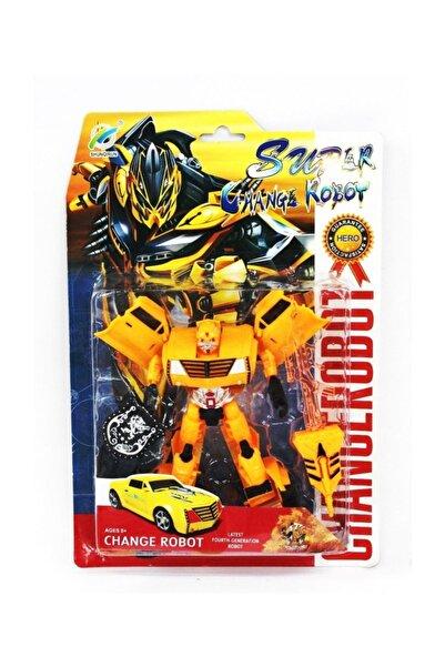 Beyaz Kuş Oyuncak Transformers Arabaya Dönüşen Robot Oyuncak