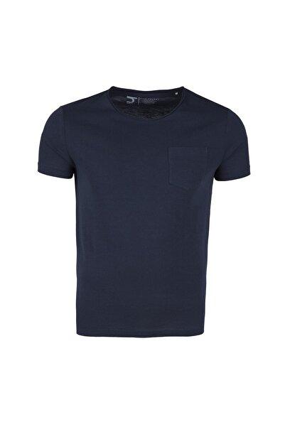 Five Pocket Erkek Lacivert T-Shirt - 1083