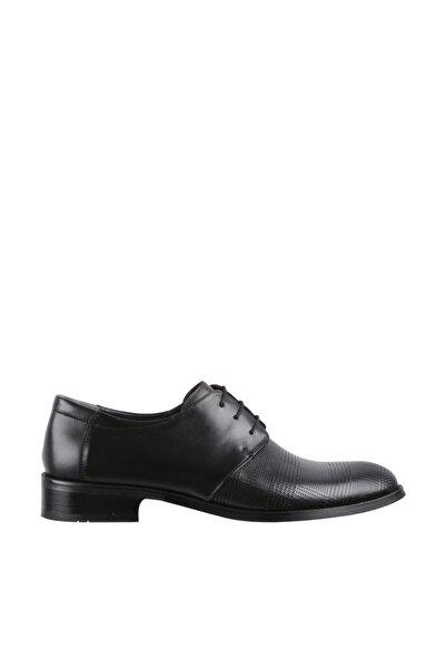 Elegante Erkek Italy Klasik Ayakkabı 144-SİYAH-ANTİK