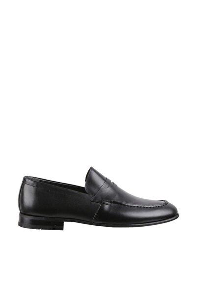 Elegante Erkek Italy Klasik Ayakkabı 113-SİYAH-ANTİK