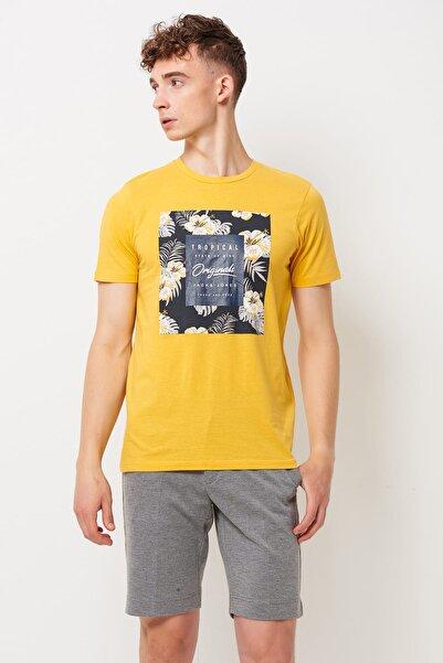 Jack & Jones T-Shirt - Tropicana Original Tee Ss Crew Neck 12152706