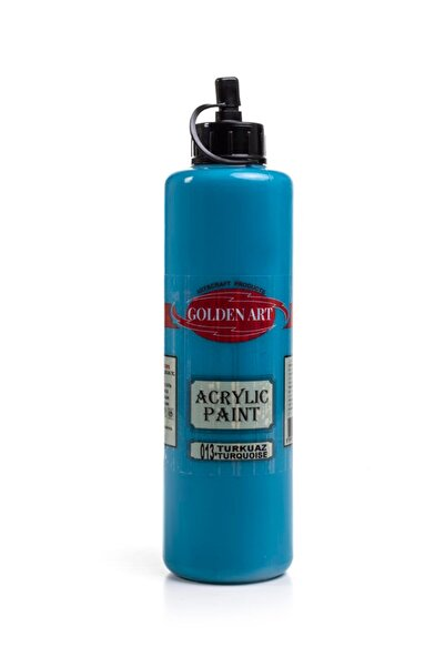 Bigpoint Golden Art Akrilik Boya 500ml - 013 Turkuaz
