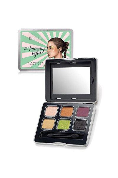 Faberlic Amazingeyes Göz Farı Paleti 10 g Green 4690302208264