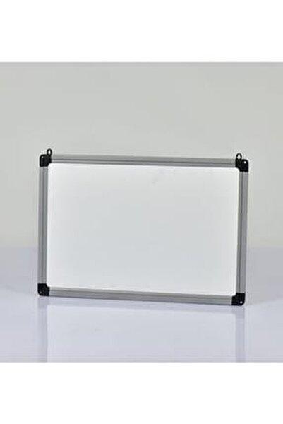 Yazı Tahtası Beyaz - Duvar Askı Aparatlı -Alüminyum Çerçeve 23X32 Cm
