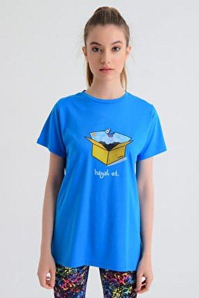 Kadın T-shirt - Wormie Hayalet Kutu - WRMHTK