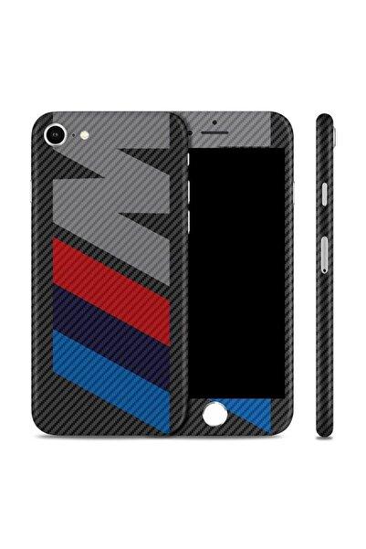 Renkli Garaj iPhone 7 M Premium Carbon Fiber Telefon Kaplama