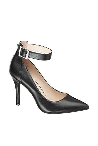 Graceland Deichmann Kadın Siyah Topuklu Ayakkabı