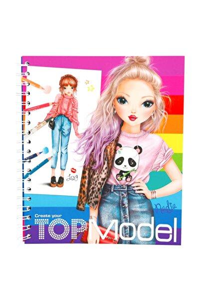 Top Model Tasarım Boyama Kitabı 5028
