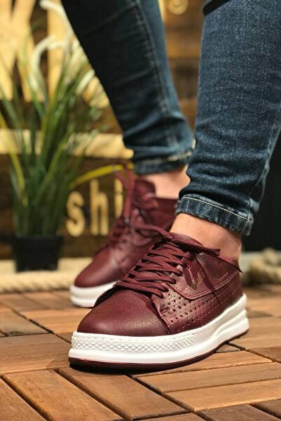 Chekich Bordo Erkek Sneaker CH043