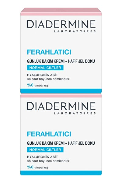 Diadermine Essentıals 48 Saat Ferahlatıcı Derinlemesine Bakım Kremi 50 ml* 2 Adet