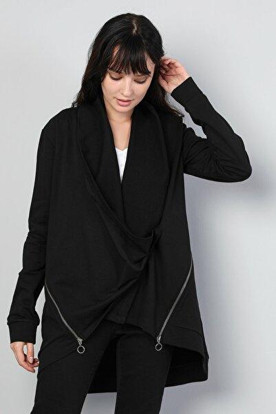 Colin's KADIN Comfort Fit Kadın Siyah Ceket CL1044854