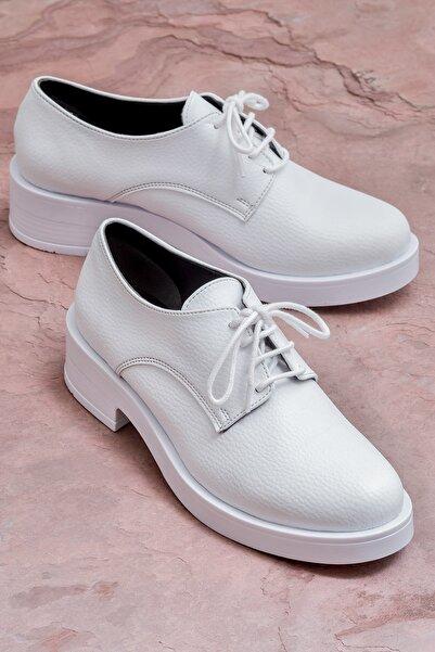 Elle Shoes BAILEY Beyaz Kadın Ayakkabı