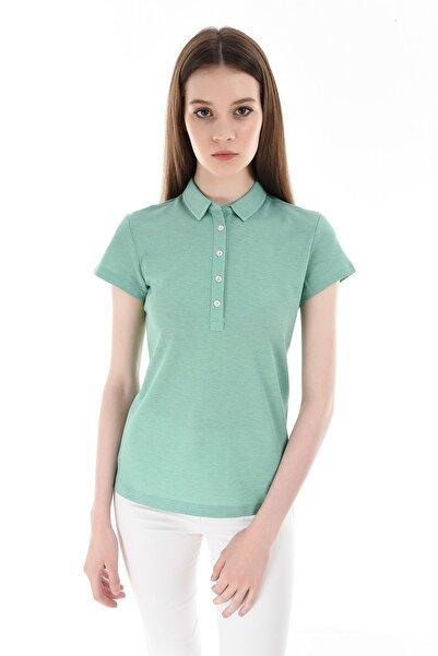 GIZA HOUSE Açık Yeşil Kadın T-Shirt