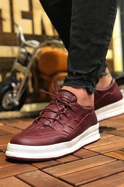 Chekich Bordo Erkek Sneaker CH040