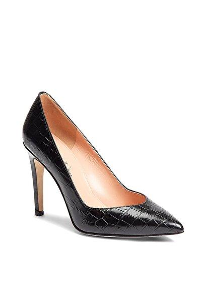 BROOKS BROTHERS Kadın Siyah Topuklu Ayakkabi 1-00122523