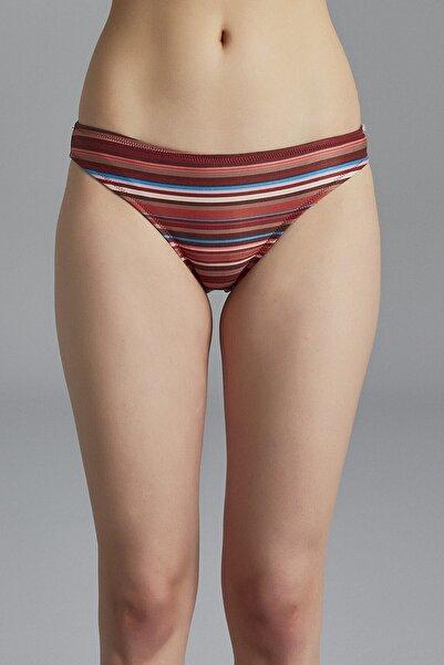 Penti Kadın Çizgili Lane Slip Mayo Bikini Altı
