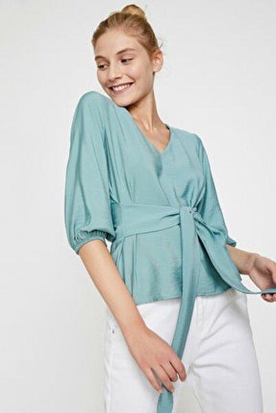 Kadın Yeşil Bluz 0KAL68768IW