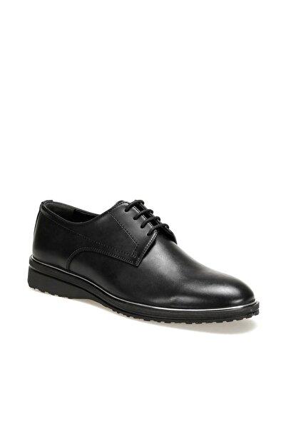 JJ-STILLER 313-1 Siyah Erkek Klasik Ayakkabı