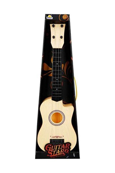 Sunman Gerçek Telli İspanyol Gitar - Krem