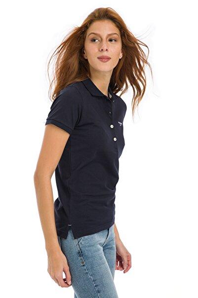 Galvanni Kadın  Lacivert Polo Tişört - NYKO