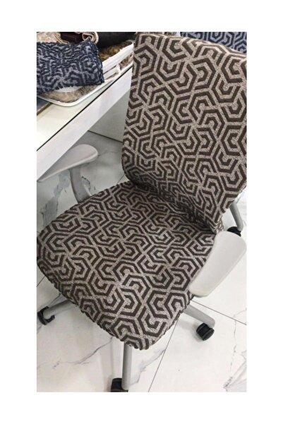 Elegante Sandalye Kılıfı  Pratik 6 Lı 1090