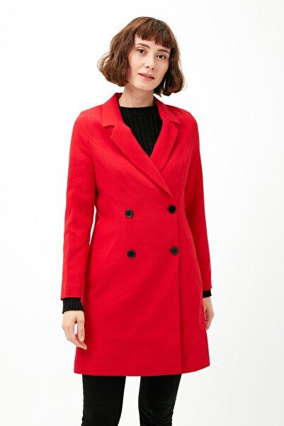 Koton Kadın Kırmızı Ceket 9KAK53991EW