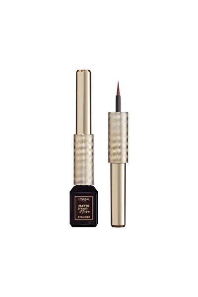 L'Oreal Paris Mat Eyeliner - Matte Signature Eyeliner 03 Marron 30175242