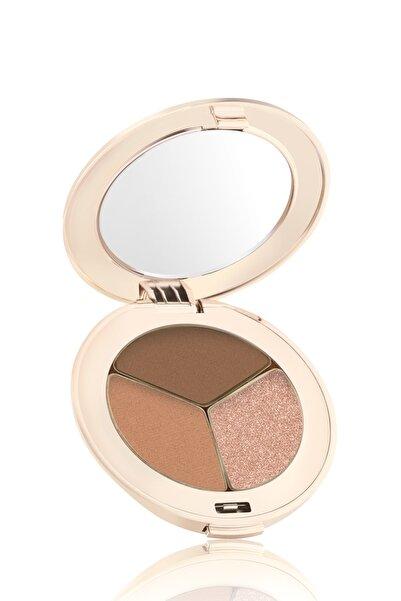Jane Iredale 3'lü Sıkıştırılmış Göz Farı - PurePressed Eye Shadow Triple Cognac 2.8 g 670959111159