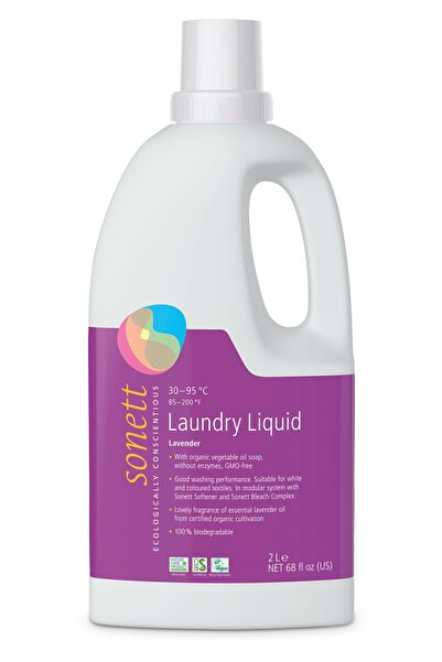 Sonett Lavanta Organik Çamaşır Yıkama Sıvısı 2 lt