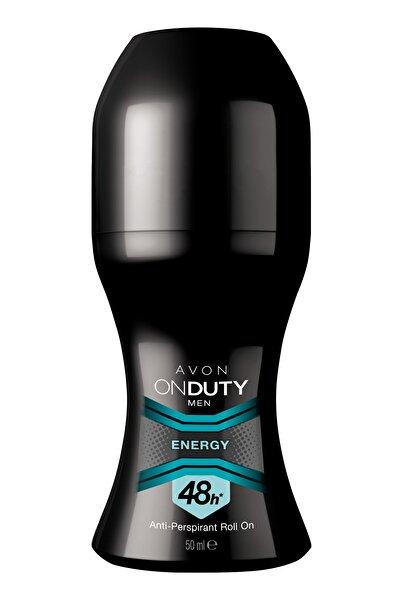 AVON On Duty Energy Antiperspirant Erkek Roll-On Deodorant - 50ml