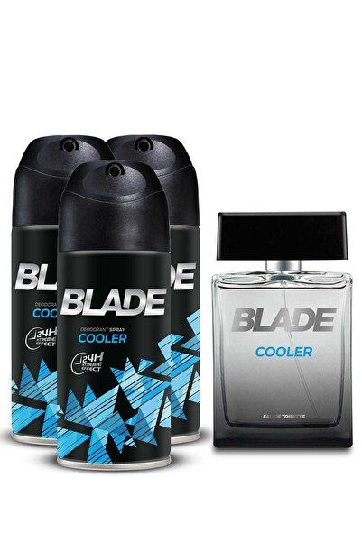 Blade Cooler Edt Parfümü 100 ml + 3'Lü Deodorant 150 ml 507726-2