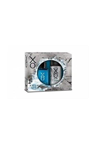 Xo Aqua Cool Bay Parfüm 100 ml + 125 ml Deo Parfüm Seti