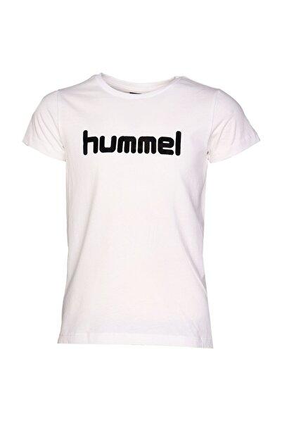 HUMMEL KIDS Beyaz Kız Çocuk Mota Kısa Kollu Tişört