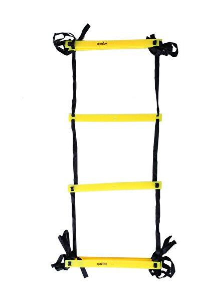 Sportive Unisex Diğer Aksesuarlar - Siyah-Sarı Antrenman Merdiveni - 8 M - SPT-59902