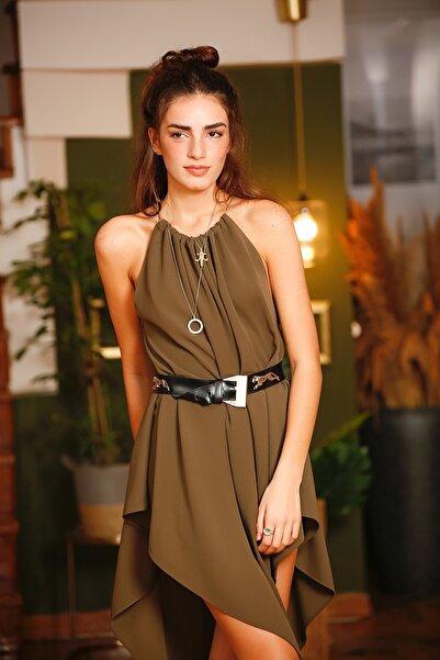 Eclectic Asimetrik Elbise