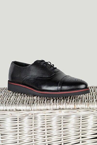Terapi Men Erkek Klasik Ayakkabı 9Y-1300149-002 Siyah