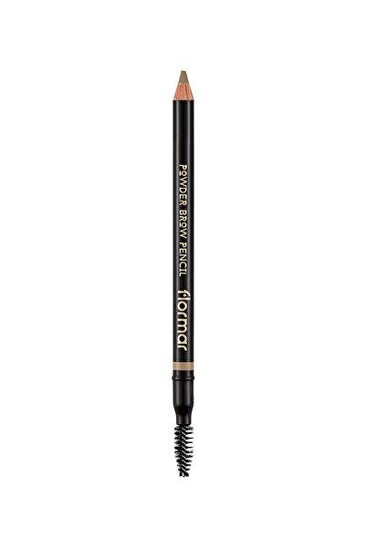 Flormar Kaş Kalemi - Powder Brow Pencil Beige 01 8690604634200