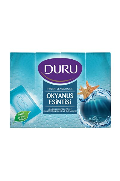 Duru Duru Fresh Duş Sabunu Okyanus Esintisi 4X150 G