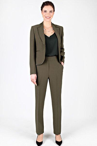 Spazio Kadın Haki Fresco Ceket