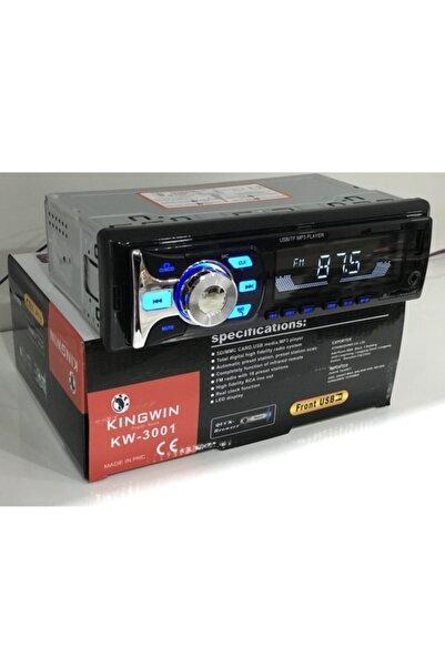 Kingwin Kıngwın Araba Oto Teyp 4*60w Bluetooth Usb Sd Aux 2 Yıl Garantili