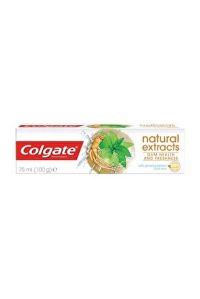 Natural Extracts Ginseng & Mint Toothpaste Diş Macunu 75 ml