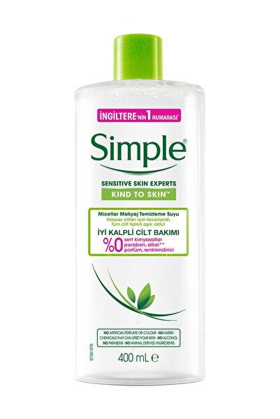 Simple Micellar Makyaj Temizleme Suyu 400Ml