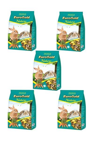 EuroGold Tavşan Yemi 750 Gr X 5 Adet