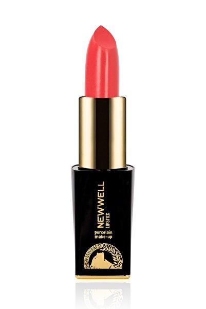 New Well Ruj - Shiny Lipstick 406 Nar Çiçeği 8680923323145