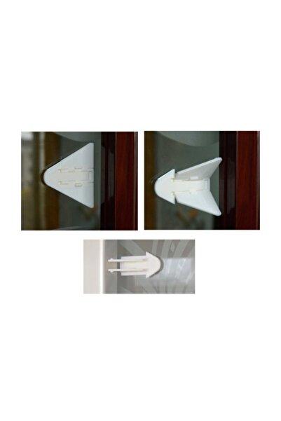 Hediye Buketi Çocuk Koruma Raylı Kapı, Dolap Kilidi (üçgen)